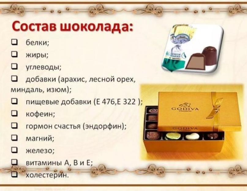 Меню Диеты Шоколадной. Шоколадная диета для похудения: меню на 1 день