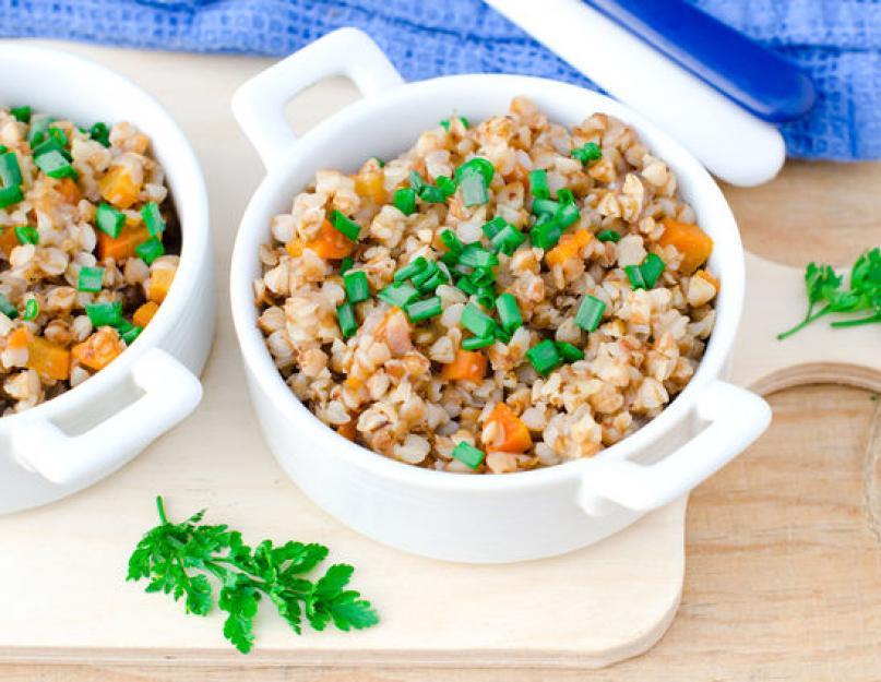 Похудеть гречка творог овощи