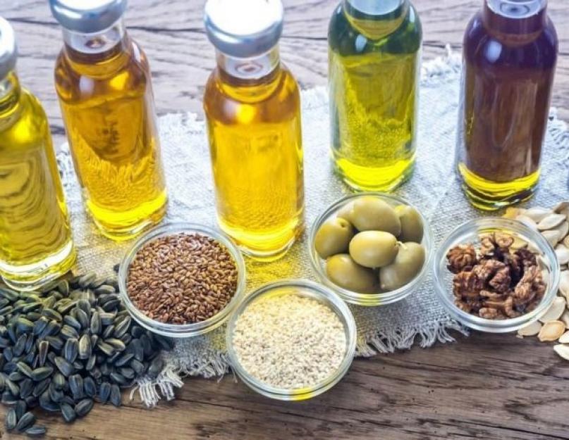 Растительные Масла В Диетах. Какое масло можно на диете?
